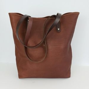 Jack Georges Leather Tote